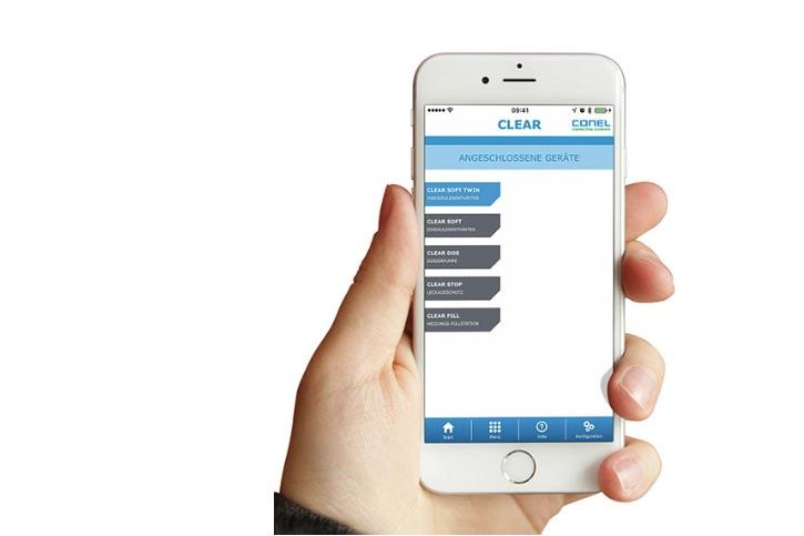 Clear Soft Clear Wasseraufbereitung per App