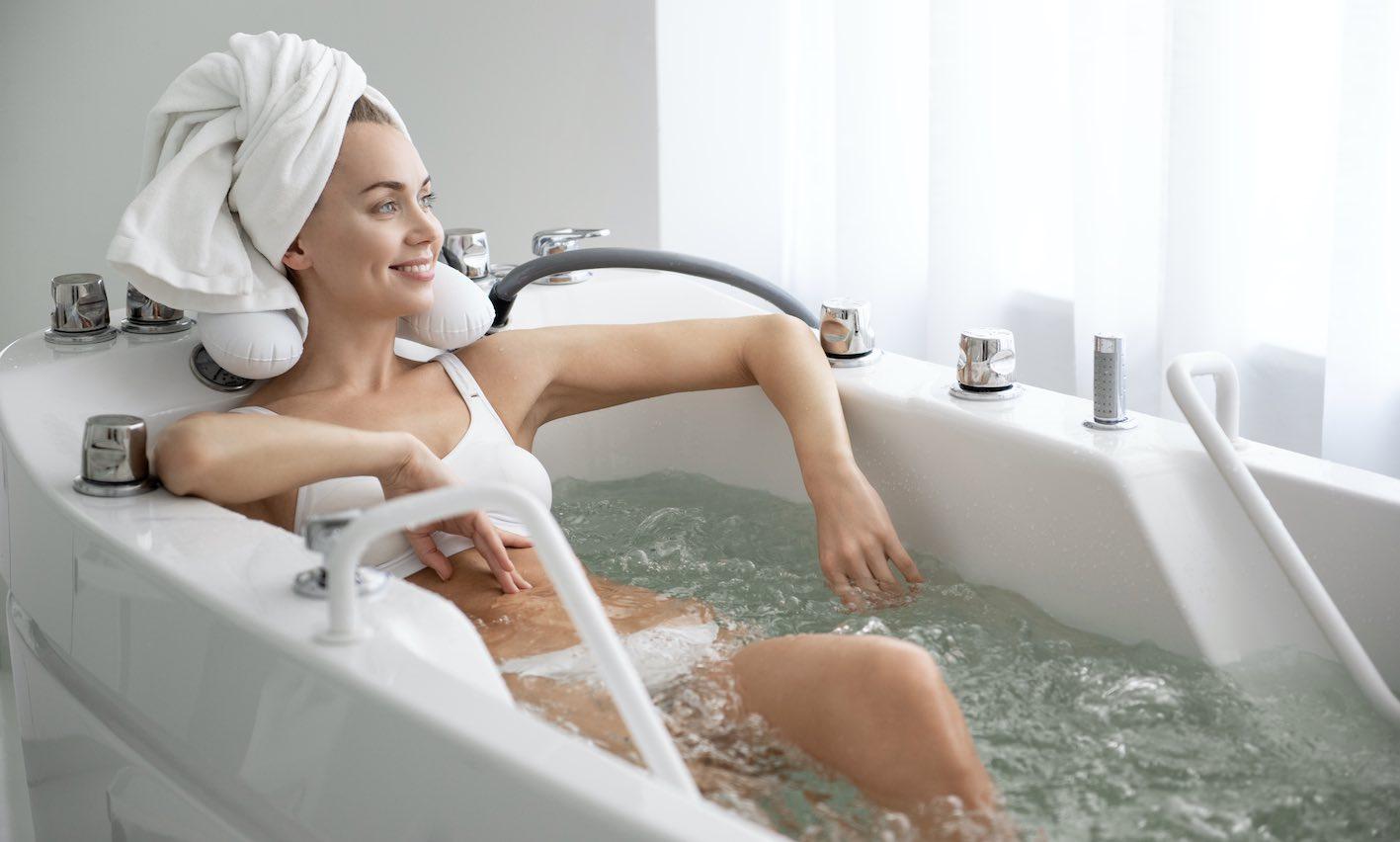 Hydrotherapie Badewanne