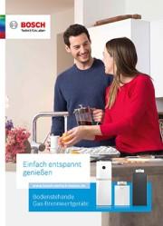 Broschüre Bodenstehende Gas Brennwertgeräte Bosch