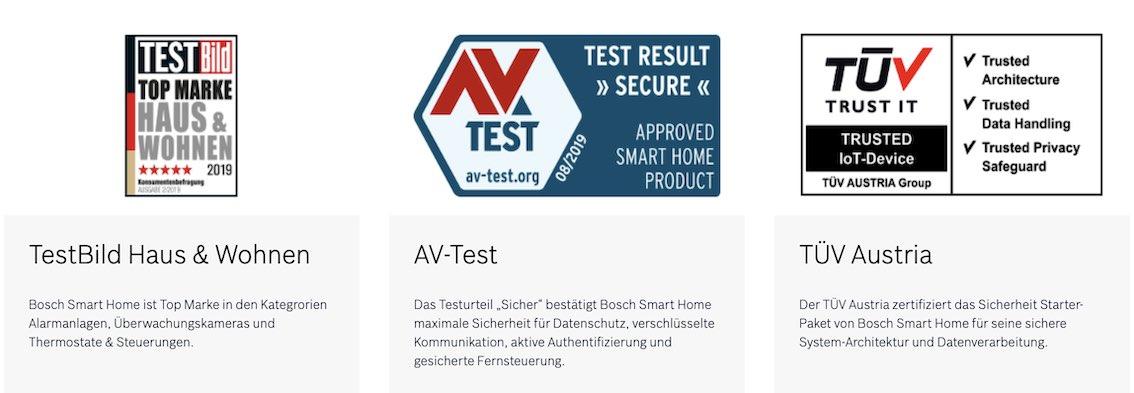 Bosch Smart Home Garantien